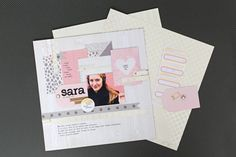 Layout using the Typecast typewriter and collection from We R Memory Keepers exclusively at @Michaelsstores