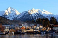 Sitka, Alaska.  I could live here...