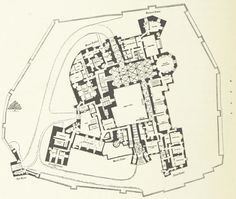 Plan of Raby Castle (1897)