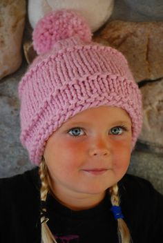 Adorable PINK BEANIE for now, a SPECIAL EASTER or BIRTHDAY GIFT!!! Keep warm on a chilly day in this adorable PALE PINK BEANIE! This hand knit hat