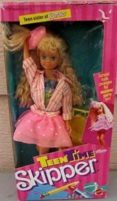Barbie Teentime Skipper