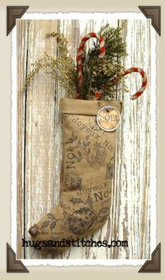 french country christmas ornaments | of 2 9022 french country noel sock ornament our french inspired noel ...