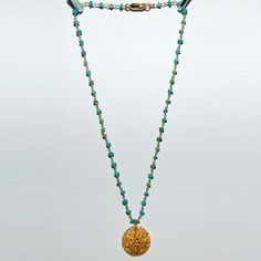 Alikreukel Necklace Turquoise now featured on Fab.