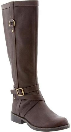 Tall Bucklestrap Boots