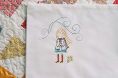 i want all my pillowcases to look like this!  #embroidery