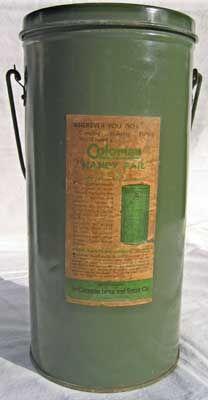 Coleman kerosene lanterns, Model 234 (one mantle, 175 cp) on the left,