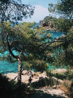 Cala S'Almunia and Cala Moro near Santanyi, Mallorca