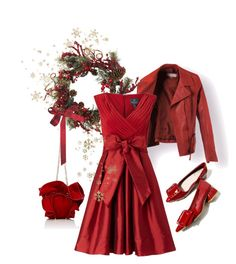 """love"" by chiarettadesign ❤ liked on Polyvore featuring Nearly Natural, Adrianna Papell and Nina Ricci"