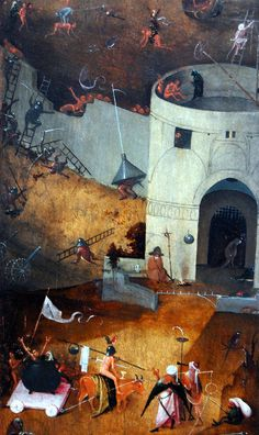 Hieronymus Bosch, Last Judgment - detail