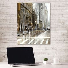 Portfolio Canvas Decor Rush Hour Part I by Emily Williams Wrapped Canvas Wall Art