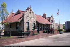 Frisco Depot at Poplar Bluff, Missouri.