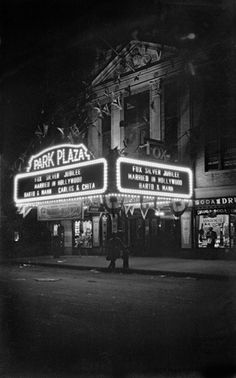 Park Plaza Theater, 1746 University Ave, Bronx, New York -1929. The George Mann Archive