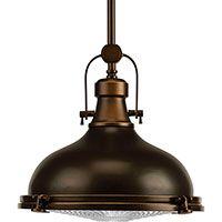 progress lighting progress pendant light with white glass in oil rubbed bronze finish arteriors soho industrial style pendant light fixture