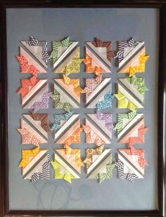 Create Art With Me!: Make a quilt in an evening--A PAPER ORIGAMI quilt that is!