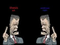 the thesis and antithesis