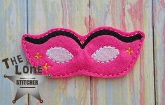 Masquerade Mask Over Sized: The Lone Stitcher