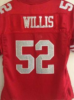 San Francisco 49ers Jersey- Custom Made! San Francisco 49ers d67a2dcef