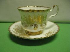 Vintage Tea Cup Royal Albert Bone China by hazeleyesartglassetc $46.99