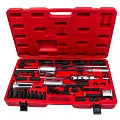 China Customized 40pc Master Injector Extractor With Common Rail Adaptor Puller With Slide Hammer Manufacturers, Suppliers, Factory - Wholesale Price - Baiyu Slide Hammer, Motor Diesel, Common Rail, Car Tools, Car Set, Brake Calipers, Bosch, Diesel Engine, Tool Kit