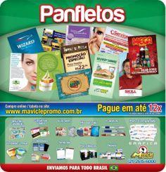 Panfletos, encartes e muito mais...  #ima #mavicle #imadegeladeira #grafica
