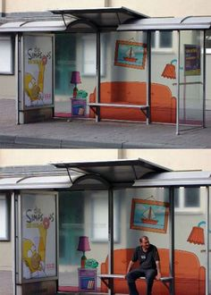 Creative Examples of Bus Stop Advertisement Ideas -   http://www.arcreactions.com/calgary-marketing-blog/