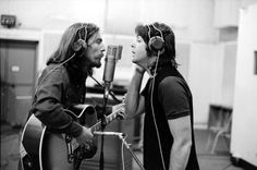 George and Paul Abbey Road
