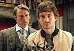 Hannibal & Will Graham: Did you just smell me?