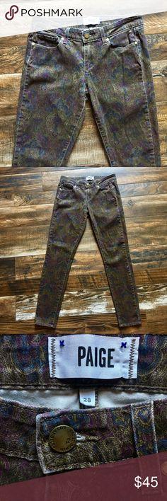 Paige Verdugo ultra skinny jeans Sz 28, 15 across waist, 29 inseam, 8 in rise PAIGE Pants Skinny
