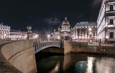 Night in St. Petersburg
