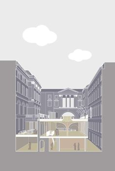 Henley Halebrown - The Strand, King's College Quadrangle