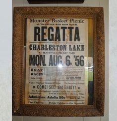 Old time regatta, Charleston Lake Charleston, Picnic, Cottage, Cottages, Picnics, Cabin, Cabins