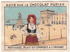 Praca-do-Comercio-Place-du-Commerce-LISBOA-LISBONNE-PORTUGAL-IMAGE-CHROMO