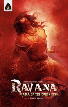 Ravana: Roar Of The Demon King: A Graphic Novel (Campfire Graphic Novels) - Paperback - (November King Ravana, Shiva Parvati Images, Full Hd Pictures, Space Artwork, God Tattoos, Lord Shiva Painting, Legends And Myths, King Art, Demon King