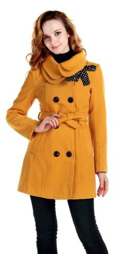 Lanhuacao Women Wool Blends Coat Slim Trench Winter Coat Long Jacket Outwear Yellow S CHAREX,http://www.amazon.com/dp/B008PLSG84/ref=cm_sw_r_pi_dp_XDfHsb19P61QV6GE