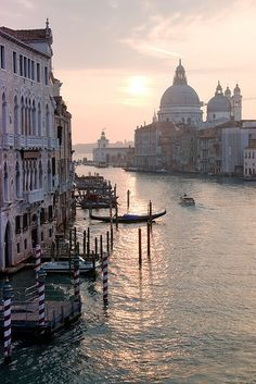 A European city that has seen a real revival in the last couple of years - Venice, Italy