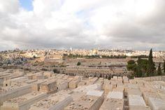 Gerusalemme: vista dal Monte degli Ulivi