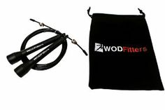 Are you crossfitting? Are you a fitness fanatic? Or maybe you just found your calling and want to start living a healthy life. Whether you are practicing single unders or training to master double unders, you need a quality rope to get the most out of your jump rope workouts. A rope that is light...
