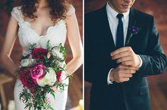 BOHEMIAN BRIDE   BERRY TONES