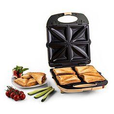 Klarstein Trinity 3in1 Waffeleisen Sandwichmaker und Kontaktgrill (1300W, großer XXL-Sandwichtoaster, herausnehmbare austauschbare Platten, 180° aufklappbar) creme Klarstein http://www.amazon.de/dp/B01145OSKW/ref=cm_sw_r_pi_dp_vUxgwb008X50H