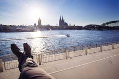 Der Rheinboulevard in Köln; Copyright: Foto: Hardt