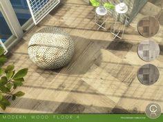 Pralinesims' Modern Wood Floor 4
