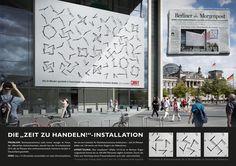 """DIE """"ZEIT ZU HANDELN!"""" - INSTALLATION : Portfolio - Alexander Döpel"""