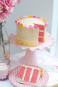 El blog de Megasilvita.com: Tarta Pink Velvet Cake