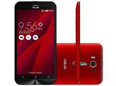 "Smartphone Asus ZenFone 2 Laser 16GB Dual Chip 4G - Câm. 13MP + Selfie 5MP Tela 5.5"" Proc. Quad Core"