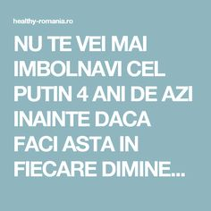 NU TE VEI MAI IMBOLNAVI CEL PUTIN 4 ANI DE AZI INAINTE DACA FACI ASTA IN FIECARE DIMINEATA! - Healthy Romania Mai, Doterra, Health And Wellness, Plants, Biology, Planters, Plant, Doterra Essential Oils