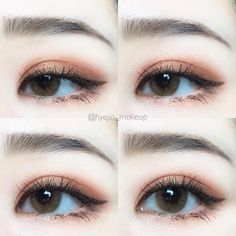 Korean makeup tips - You can improve the look of your eyebrows overnight. This makes your eyebrows look shiny and. Be certain to never get vaseline on every other element of your face, because it can result in unwelcome breakouts of pimples. Korean Makeup Look, Korean Makeup Tips, Korean Makeup Tutorials, Asian Makeup, Beauty And Beauty, Beauty Makeup, Hair Makeup, Makeup Goals, Makeup Inspo