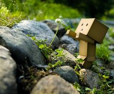 how cute is this little box man?
