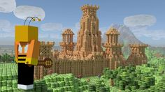 """We were hired by the guys over at PrettyNifty Productions with only one command: """"Make Cheeriocraft - Minecraft meets Cheerios"""". In just under 3 weeks, we created an entire virtual world in Blender, designing the cheerios island, the bee character, UI, animations and more. To check out the original cheerios version go here!  https://www.youtube.com/watch?v=Zu2NPpiIViU"""