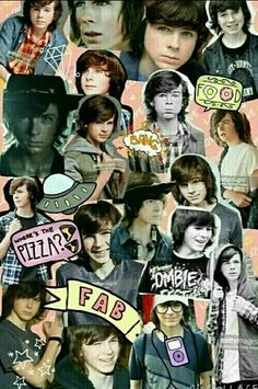 Chandler riggs collage :) :)