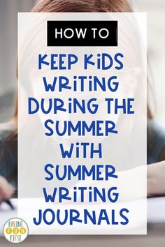 One of the best summer activities for students is summer writing. The more students are exposed to writing activities, graphic organizers, checklist, & writing tools, the better they do. Avoid the 'summer slump' with these summer writing activity ideas and support all learners this summer! Head to this blog post to get some ideas and see how I'm getting students ready for summer writing now! Kids Writing, Writing Paper, Writing Activities, Writing Skills, Narrative Writing, First Blog Post, Activity Ideas, Summer School, Graphic Organizers